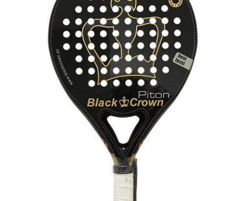 Pala de pádel Black Crown Piton